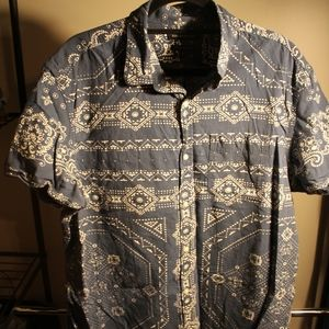Men's Banana Republic Short Sleeve Button Up